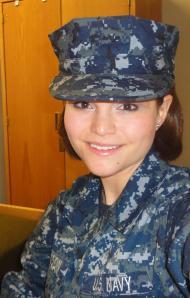 Charity Jackson, Navy