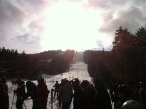 Snowboarding in West Virginia, baby!